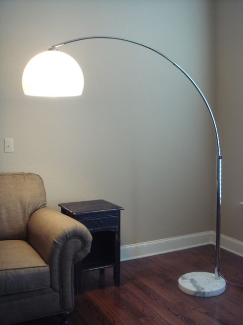Arc lamp - ON