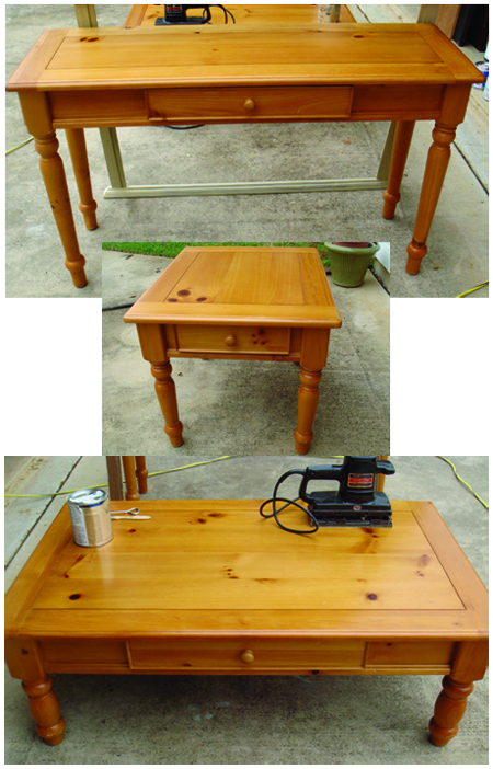 Three Pine Tables