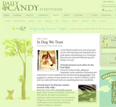 DailyCandy - June 17, 2009