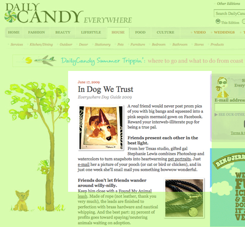 DailyCandy - June 17, 2009