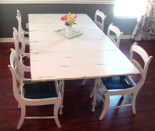 Table and chairs ~ DONE!