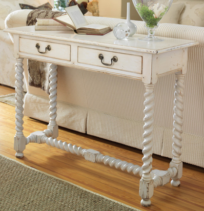 Cottage Chic console table