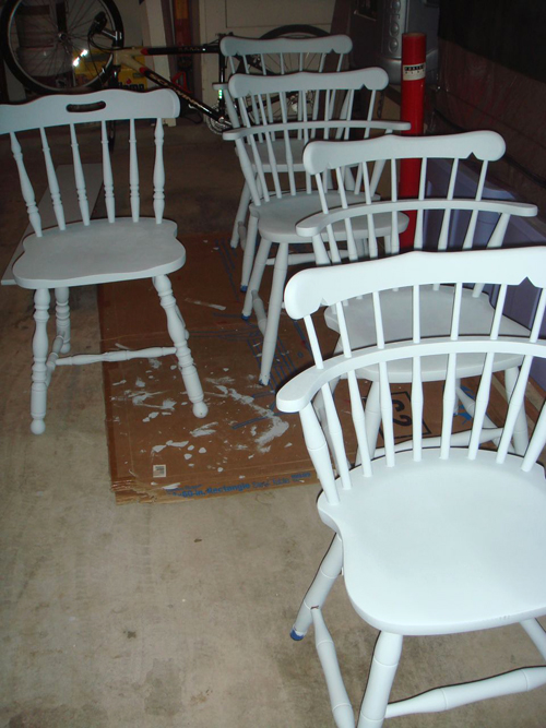 Chairs - spindles