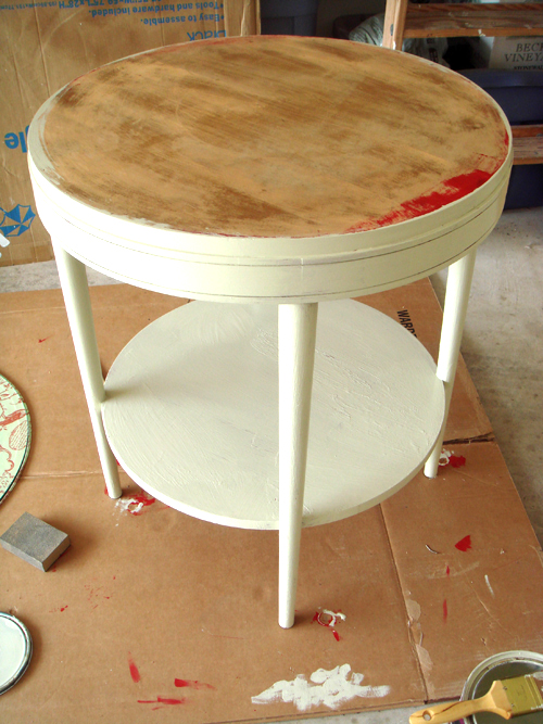 Table - with top coat