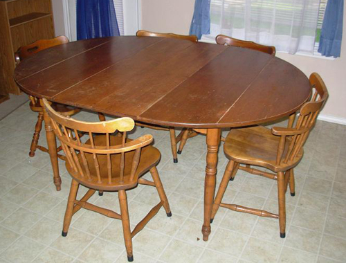 Table and Chairs - BEFORE
