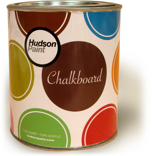 Hudson chalkboard paint