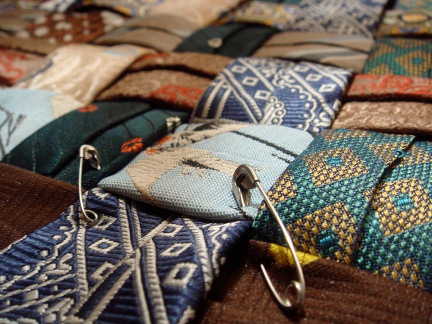 seat weave ~ closeup
