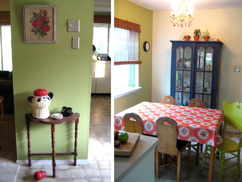 Vignette and kitchen