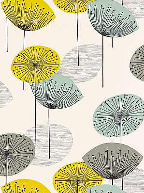 Dandelion paper at John Lewis