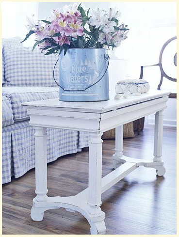 Cottage bench at Better Homes & Gardens