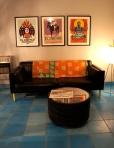 Lobby at el Cosmico
