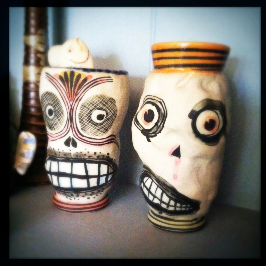 Day of the Dead cups...